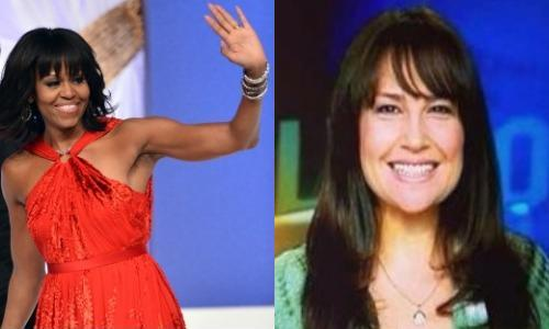 1st Ladies of Fringe! (Michelle Obama & Kristin Cruz)