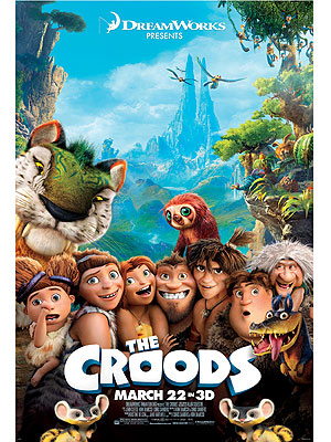 Dreamworks presents, The Croods!