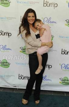 Ali Landry and her precious daughter #RedCarpet MOMents