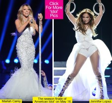 J-Lo vs. Mariah! American Idol? It's a Mom Thang!
