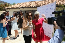 Interviewing P!NK on the red carpet- Kristin Cruz