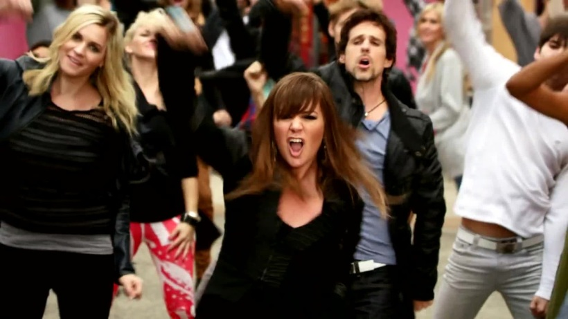 Kelly Clarkson Stronger What Doesn't Kill You Dance Video Still