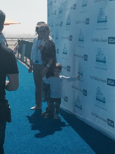 Sarah Michelle Gellar and Rocky